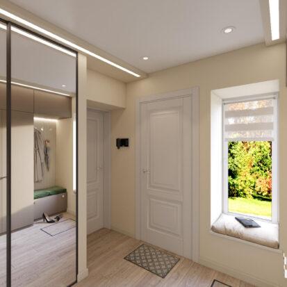 Дизайн и ремонт дома Запорожье прихожая