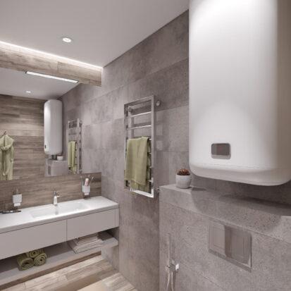 Дизайн проект дома Запорожье туалет