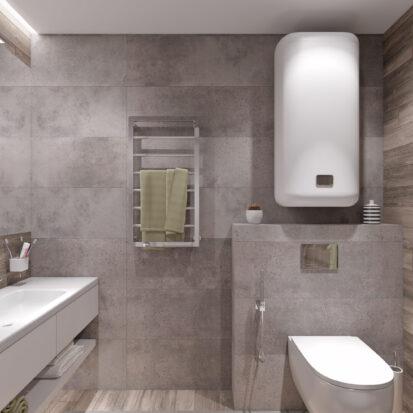 Дизайн и ремонт загородного дома Запорожье ванная комната