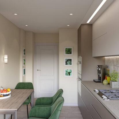 Дизайн проект кухни в часном доме Запорожье