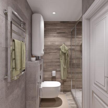 Дизайн и ремонт одноэтажного дома Запорожье ванная