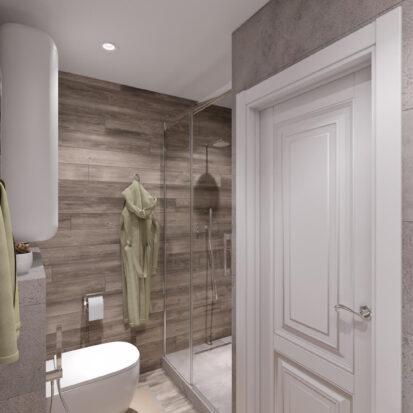 Дизайн проект часного дома Запорожье ванная