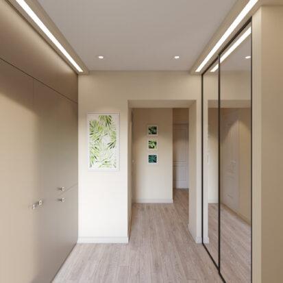 Дизайн и ремонт часного дома Запорожье прихожая