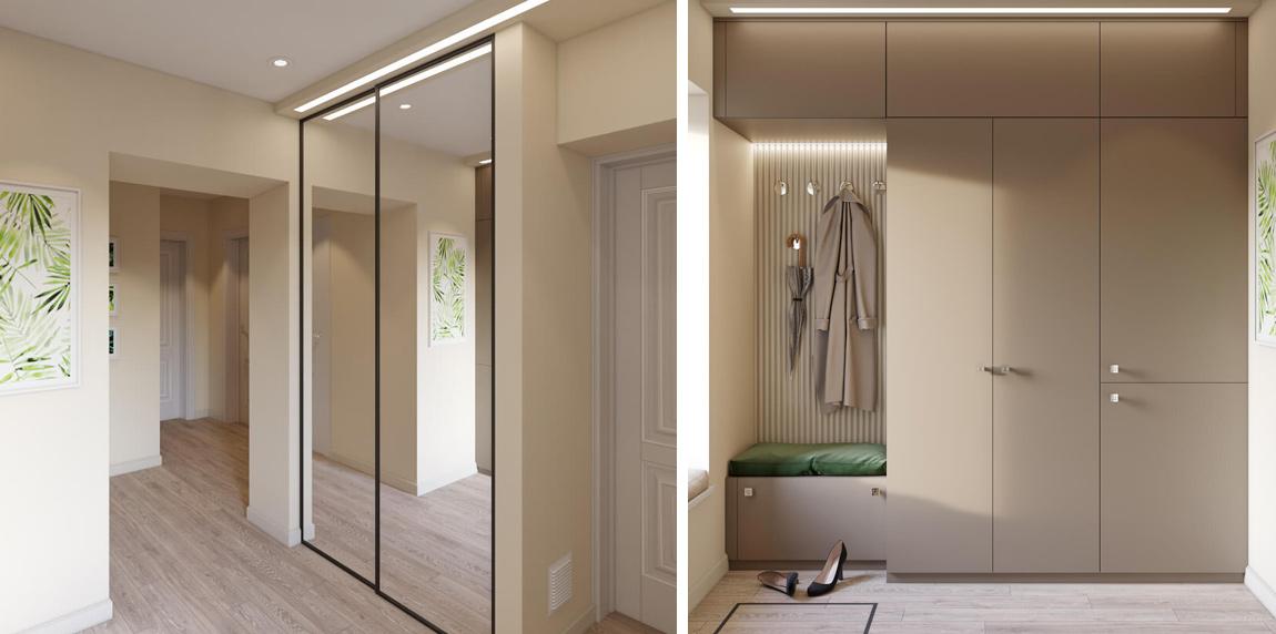 дизайн и ремонт дома прихожая