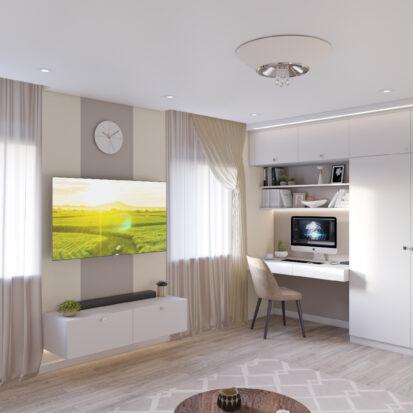 дизайн и ремон одноэтажного дома