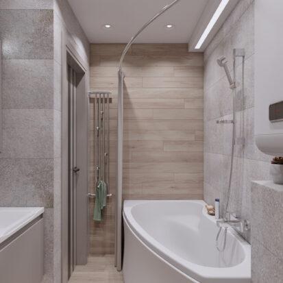 дизайн и ремонт квартиры санузел