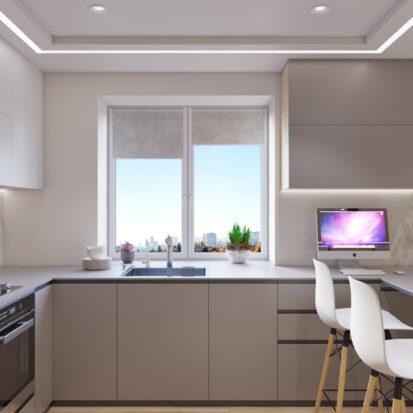 дизайн и ремонт квартиры Запорожье