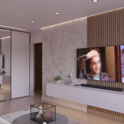 Дизайн квартиры Запорожье Гостиная