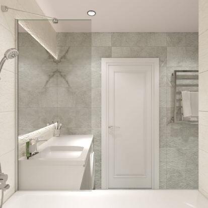Дизайн квартиры Запорожье ванная