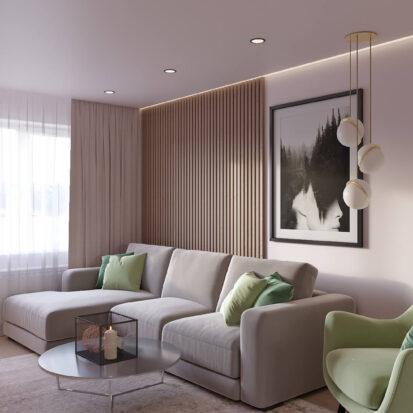 Дизайн квартиры Запорожье гостиная дизайн - проект