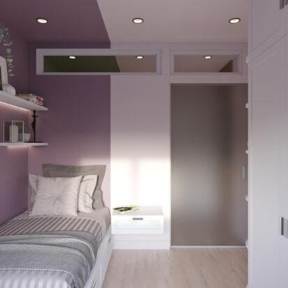 Дизайн квартиры Запорожье детская для девочки студия дизайна