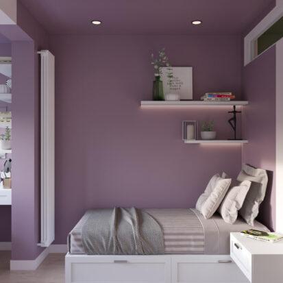 Дизайн квартиры Запорожье детская для девочки