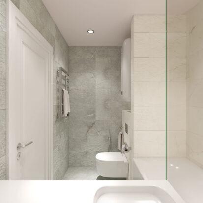 Дизайн квартиры Запорожье интерьер ванной