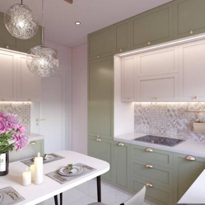 Дизайн квартиры Запорожье интерьер кухни