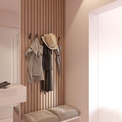 Дизайн квартиры Запорожье интерьер прихожей