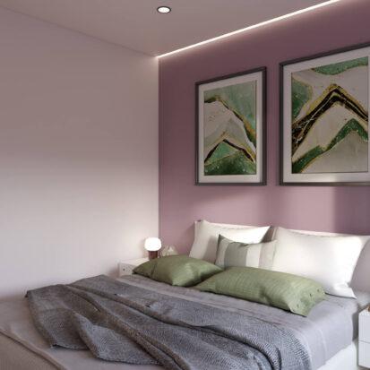 Дизайн квартиры Запорожье интерьер спальни