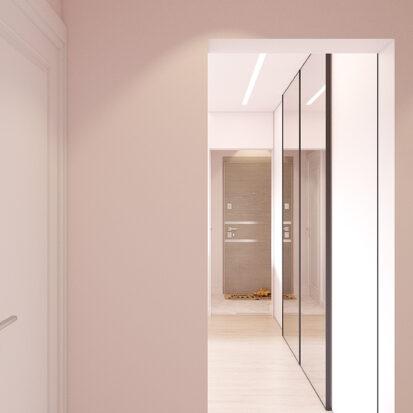 Дизайн квартиры Запорожье коридор цена