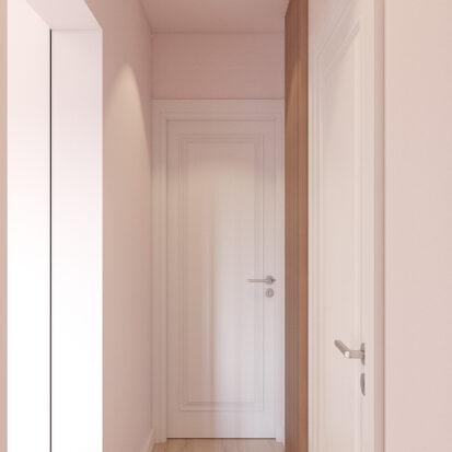 Дизайн квартиры Запорожье коридор