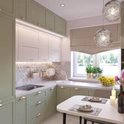 Дизайн квартиры Запорожье кухня дизайн проект
