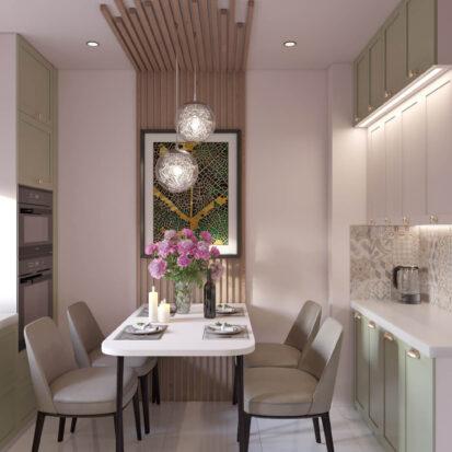 Дизайн квартиры Запорожье кухня студия дизайна