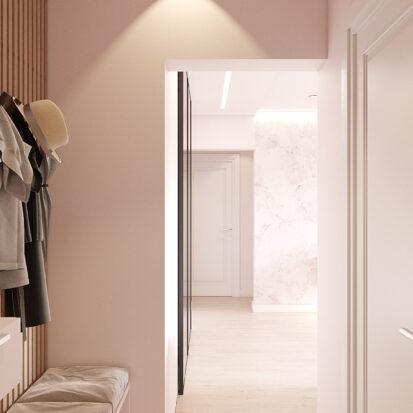 Дизайн квартиры Запорожье прихожая дизайн проект