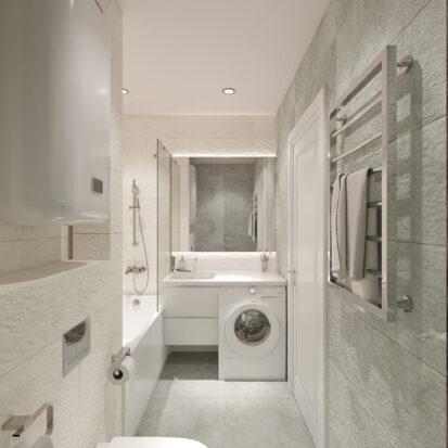 Дизайн квартиры Запорожье проект ванной комнаты