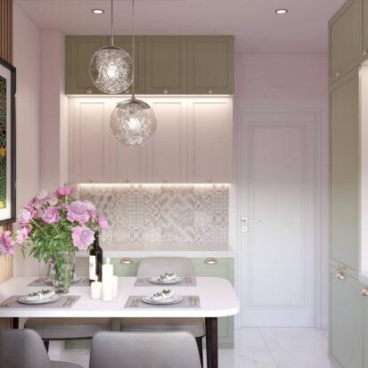 Дизайн квартиры Запорожье проект кухни