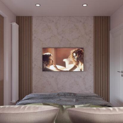Дизайн квартиры Запорожье проект спальни