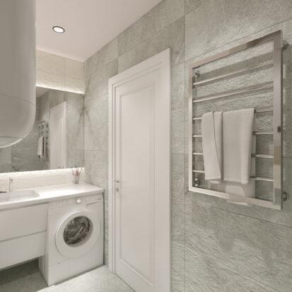Дизайн квартиры Запорожье ремонт ванной