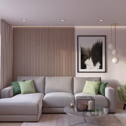 Дизайн квартиры Запорожье ремонт гостиной