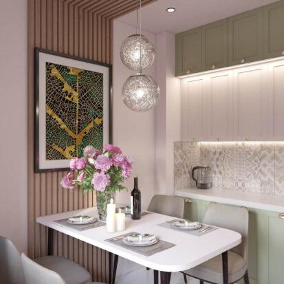 Дизайн квартиры Запорожье ремонт кухни