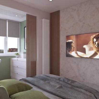 Дизайн квартиры Запорожье ремонт спальни