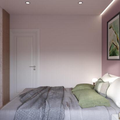 Дизайн квартиры Запорожье спальня дизайн проект
