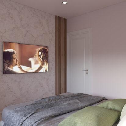 Дизайн квартиры Запорожье спальня студия дизайна