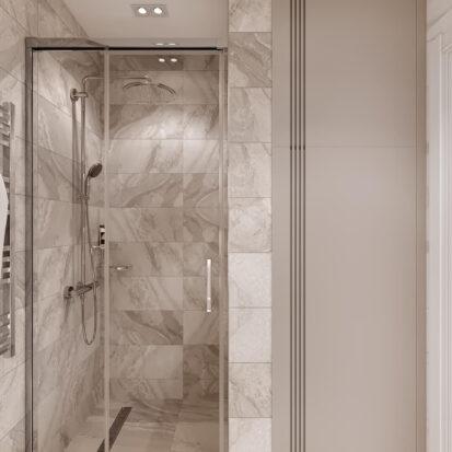 Дизайн двухэтажной квартиры ванная дизайн проект