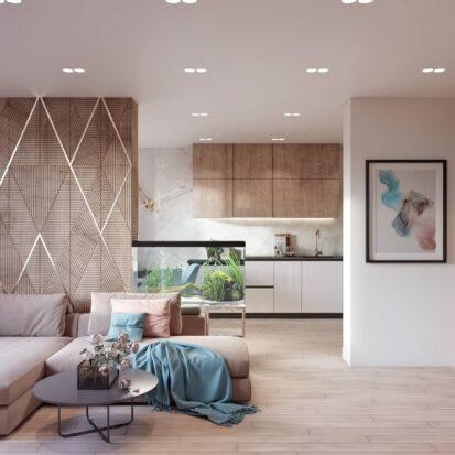 Дизайн двухэтажной квартиры гостиная дизайн - проект