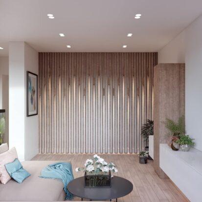 Дизайн двухэтажной квартиры гостиная цена