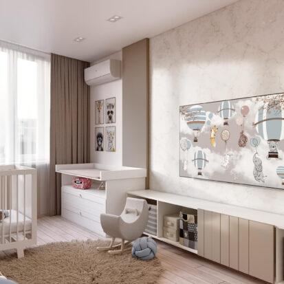 Дизайн двухэтажной квартиры детская дизайн проект