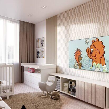 Дизайн двухэтажной квартиры детская дизайн - проект1