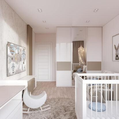 Дизайн двухэтажной квартиры детская цена