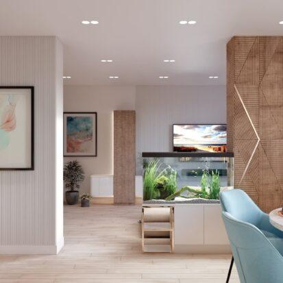Дизайн двухэтажной квартиры дизайнерский ремонт кухни