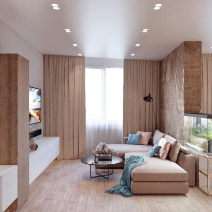 Дизайн двухэтажной квартиры интерьер гостиной