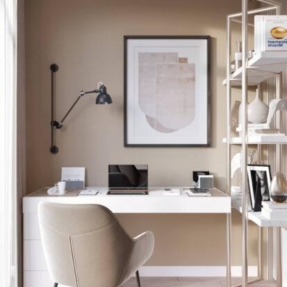 Дизайн двухэтажной квартиры кабинет студия дизайна