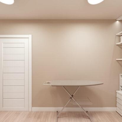 Дизайн двухэтажной квартиры кладовка
