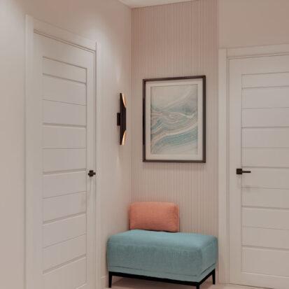 Дизайн двухэтажной квартиры коридор дизайн-проект