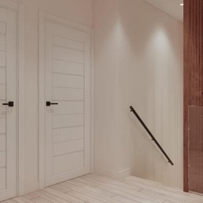 Дизайн двухэтажной квартиры коридор цена