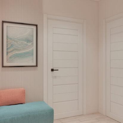 Дизайн двухэтажной квартиры коридор 2го этажа