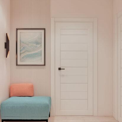 Дизайн двухэтажной квартиры коридор
