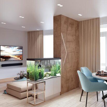 Дизайн двухэтажной квартиры кухня дизайнерский ремонт