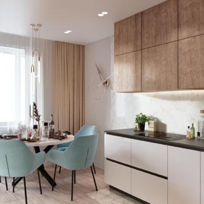 Дизайн двухэтажной квартиры кухня дизайн проект